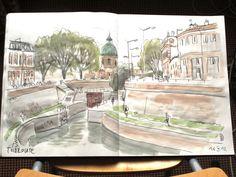 Toulouse - écluse St Pierre  (via Flickr)