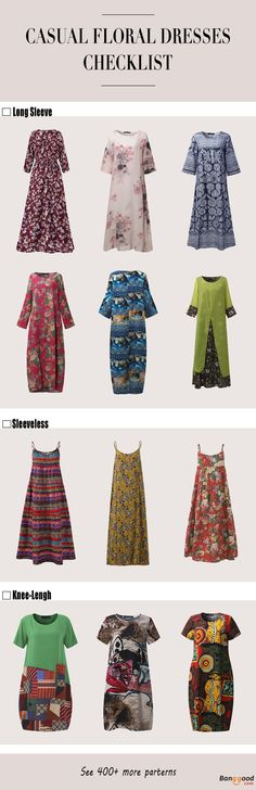 Floral Dresses Collection, Hot sale and  New Arrival, Start From US$11.39. Shop with fun! Women's Clothes, Women's Dresses, Women's Fashion.