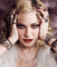 Madonna for Harper's Bazaar by @luigiandiango