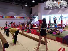 Segunda semana del Curso de Verano en Gymnastica. Gimnasia y parkour.
