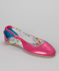Take+a+look+at+the+Fuchsia+Juno+Ballet+Flat+on+#zulily+today!