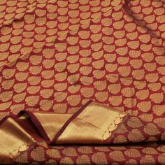 Sarangi Handwoven Kanjivaram Silk Sari - 180125797 from Sarangi * Feel Beautiful