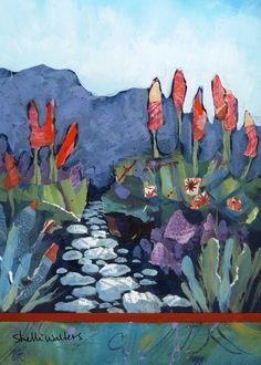 Flower Garden Original Painting