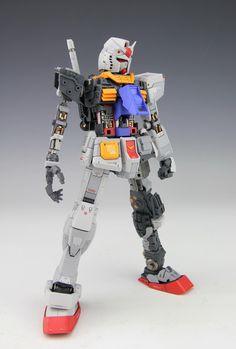 《Wonder Factory》MG RX-78-2 ver3.0加小惠子整备架~~~~ - 高达|科幻模型 - 小T