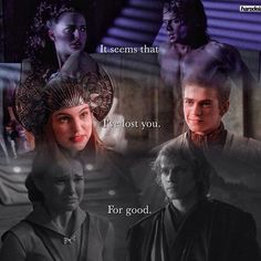 He shouldn't have broken her heart they would've been an awesome family with Luke and Leia