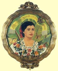 Portrait de Marucha Lavin - (Frida Kahlo)