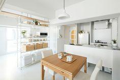 Japan Apartment, Apartment Interior, Apartment Design, Muji Haus, Muji Style, Interior Styling, Interior Design, Japanese Interior, Living Room Tv