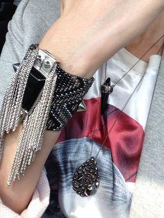Jewelry by Maria Dolores  #ootd #fashion #accessories #bijoux #jewelry