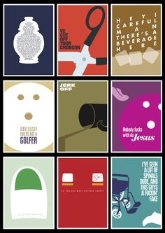 The Big Lebowski posters