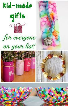 Kid-made gifts for everyone on your list (even the picky ones!)