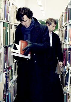 Even Sherlock uses the Library....