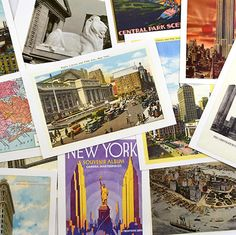 Vintage NYC Postcards Set. Celebrate the history and vibrancy of the best city in the world. This postcard set features vintage images of iconic New York landmarks, including The New York Public Library. Let your family and friends enjoy the classic city sights and the intricacy and charm of vintage maps. New York Landmarks, Vintage Maps, New York Public Library, Best Cities, Book Worms, Bookends, Polaroid Film, Nyc, History