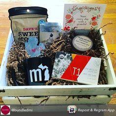 Repost from @bundledmi  Hook up your Momma this Mother's Day & build her the most fabulous bundle! I spy the print I made together with so many other fabulous products mom will love. Ship anywhere in the US for free. #mothersday #bundledmi #madeinmichigan #michiganmade #bundledmi #buylocal #mycreativebiz #partyideasgroup #girlboss #gift #mom #mothersday2016 #uniquegifts #tea#treats
