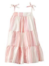 Lovely baby skirt with shoulder-straps