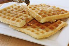 Classic Homemade Buttermilk Waffles!