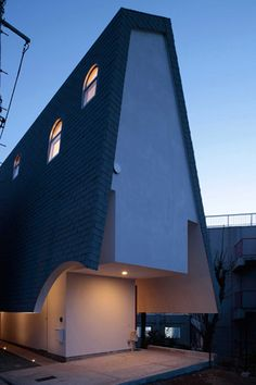 Pitched Roof House with a Steep Sense of Style