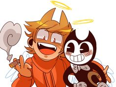 Tord And Bendy >:D