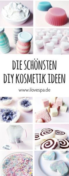 DIY Cosmetics - Here you will find the most beautiful DIY DIY ideas and recipes to make yourself, such as DIY shower jelly without gelatin, DIY modeling soap, DIY oil pulling tablets, DIY unicorn bath Diy Crafts Makeup, Diy Makeup, Diy Beauté, Diy Spa, Oil Pulling, Do It Yourself Kosmetik, Diy Beauty Organizer, Shower Jellies, Nails Polish