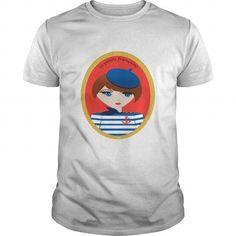 I Love La petite française d T-Shirts