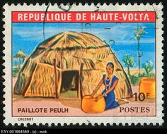 Republique de Haute Volta Stamp