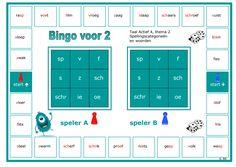 Spellingscategorieën en woorden nog eens oefenen met deze bingo voor 2. Dutch Language, Bingo, Circuit, 1, Coaching, Classroom, Teacher, Letters, Learning