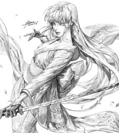 ArtStation - Line Drawing, pilyeon . Anime Drawings Sketches, Anime Sketch, Art Drawings, Reference Manga, Art Reference Poses, Character Sketches, Character Drawing, Manga Art, Anime Art