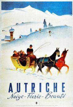 Autriche poster winter