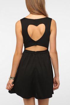 49Heart Cutout Back Dress  #UrbanOutfitters