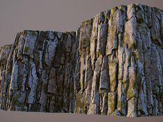 ArtStation - Mossy rock, Izat Abdraimov
