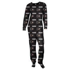 Philadelphia Flyers Women's Black Scoreboard Union Pajama Suit - yeaaa I want it