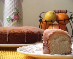 Grapefruit Pound Cake from Cooking Light Magazine