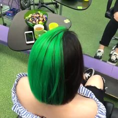 Haarfarben - New Ideas Spring Hairstyles, Cool Hairstyles, Female Hairstyles, Hairstyles 2018, Medium Hairstyles, Curly Hair Styles, Natural Hair Styles, Rainbow Hair, Love Hair