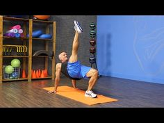 Reverse Bent-Knee Plank with Leg Pull