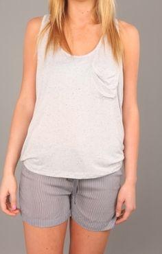 "Stade Womens ""Dropped Armhole Pocket Tank"" Use Code STASH20 for 20% OFF #Stashbox117 #clothing #apparel #teeshirt #tank #tops #StadeWomens"