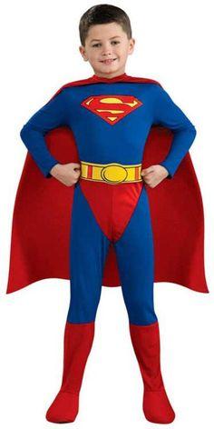 Superman Boy's Costume