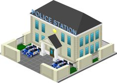 police station Homemade Dolls, Police Station, Felt Toys, Mobile Game, School Projects, Vintage Toys, Toy Chest, Storage Chest, Doll Clothes