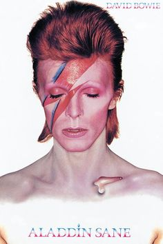 Images are used for illustrative purposes only. David Bowie Poster, David Bowie Art, David Bowie Ziggy, David Bowie Album Covers, 80s Album Covers, David Bowie Makeup, David Bowie Wallpaper, David Bowie Tattoo, 1980s Makeup