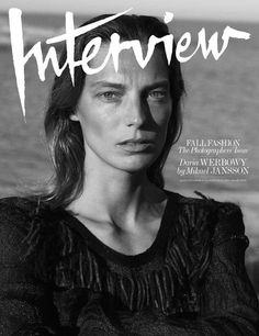 Daria Werbowy photographed by Mikael Jansson for Interview September 2014