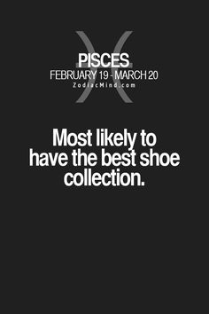 Yup. And I don't like shoes a lot I just have some good shoes