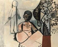 """loverofbeauty: """" Pablo Picasso: Les enfants (1956) """""""