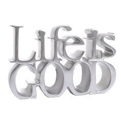 """Διακοσμητικό """"Life is Good"""" INART"""