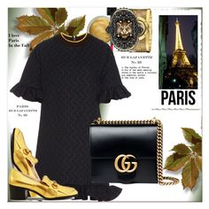 """I Love Paris In the Fall"" by dragananovcic ❤ liked on Polyvore featuring Gucci and Marni"
