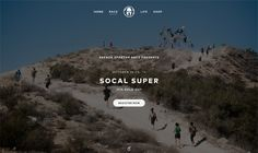 Race-Microsite-Progress Websites with Vertical Layouts
