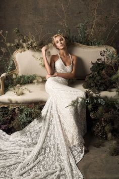 The amazing new Cloud Nine collection of bohemian lace wedding dresses from Dreamers and Lovers. Editorial captured by wedding & fashion photographer Lara Lam