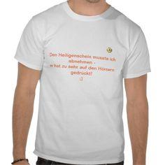 T-Shirt Heiligenschein/Hrner FUN