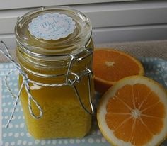 Exfoliante corporal con Sales de Epson, Naranja y Limón