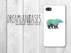 Bear iPhone Case white iphone case hipster case by DreamlandCases, $13.00