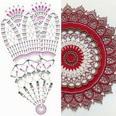 Terrific Absolutely Free Crochet Doilies tablecloth Concepts Although lots of the doilies that you see in stores today are made from paper or machine lace, you c Crochet Dollies, Crochet Diy, Crochet Round, Crochet Home, Thread Crochet, Crochet Flowers, Crochet Coaster, Vintage Crochet, Motif Mandala Crochet