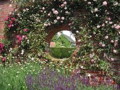 A window into a past world, Polesden Lacey Rose Garden. © National Trust