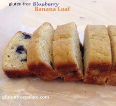 GF Blueberry Banana Bread | Gluten-Free Palate